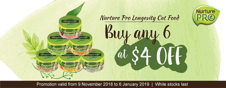 Nurture Pro Cat Canned Food Promotion